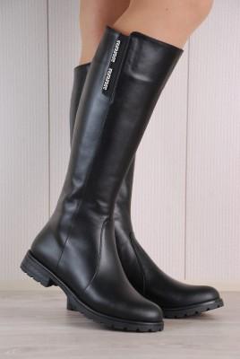 DE-1345(кожа чёрная)