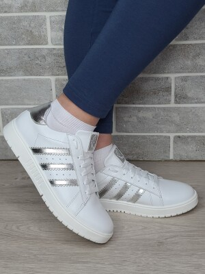 DE-7006(кожа белая+серебро)